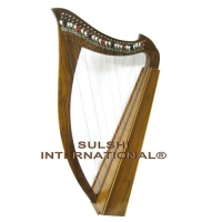 ROSEWOOD CELTIC HARP (27 STRINGS WITH LEVERS)